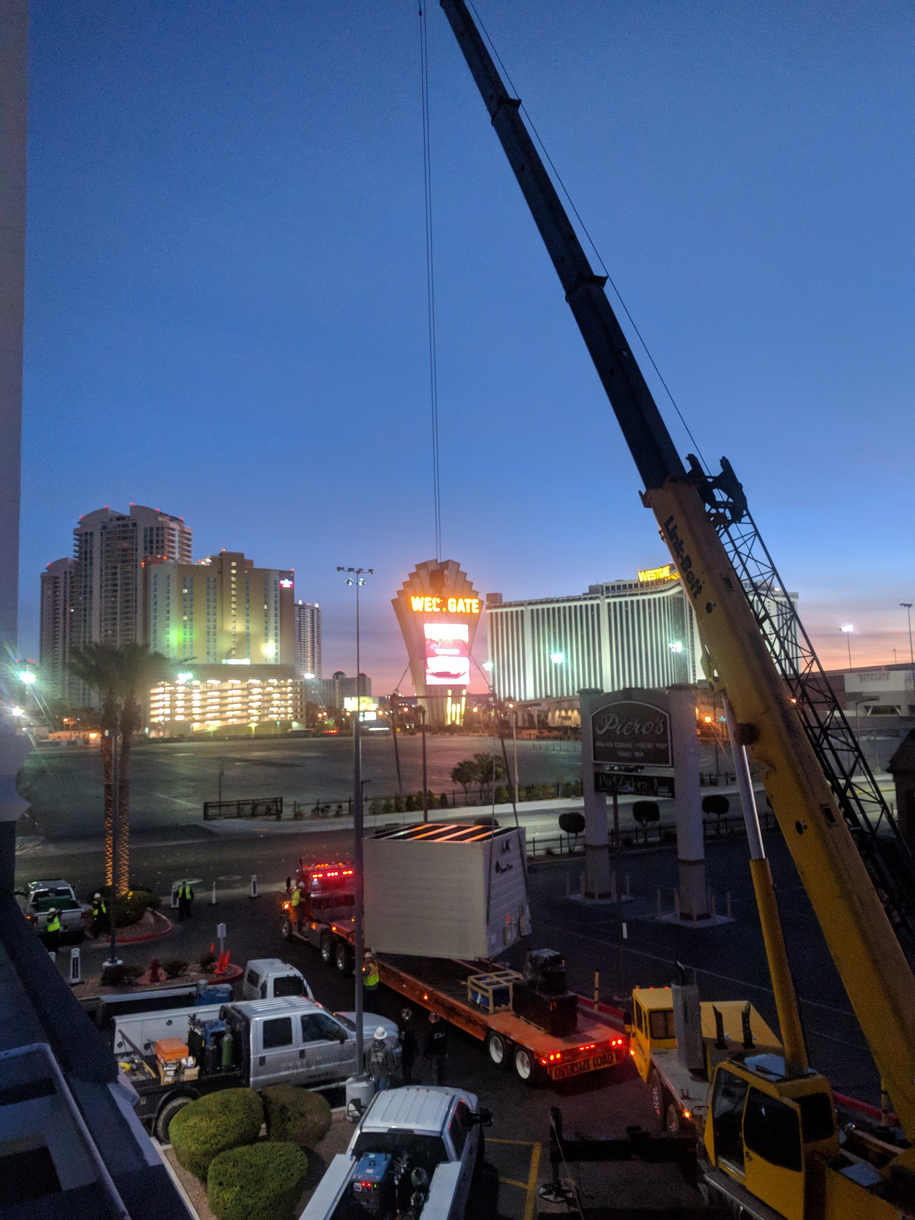 ABBAE Marriott Cooling Tower Install
